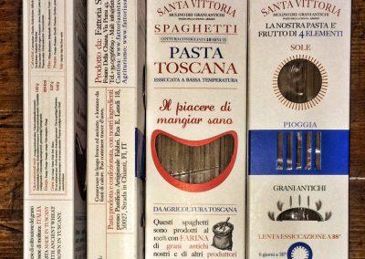 Spaghetti pasta shape