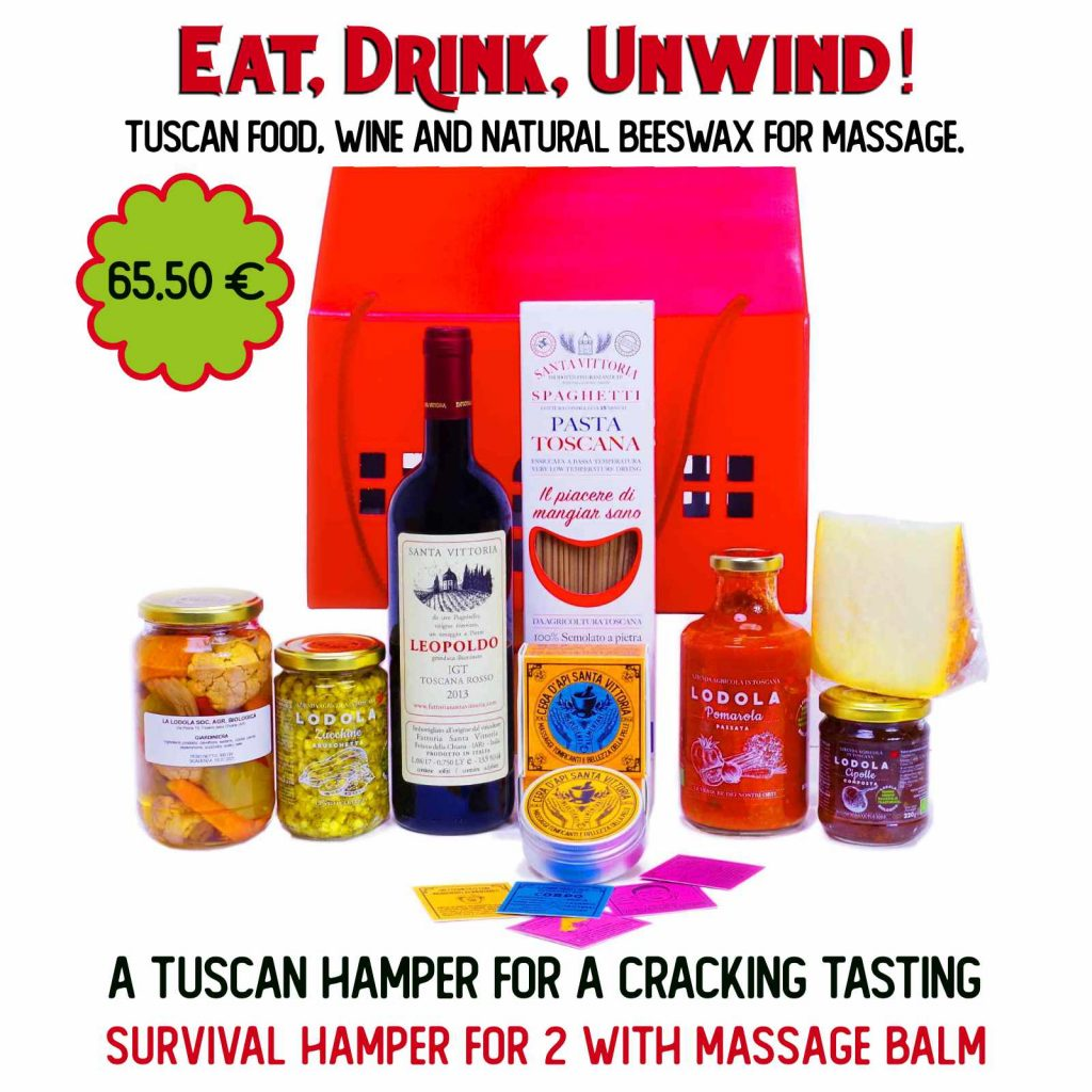Eat, Drink, Massage, Unwind. Happy End! Gift Box.