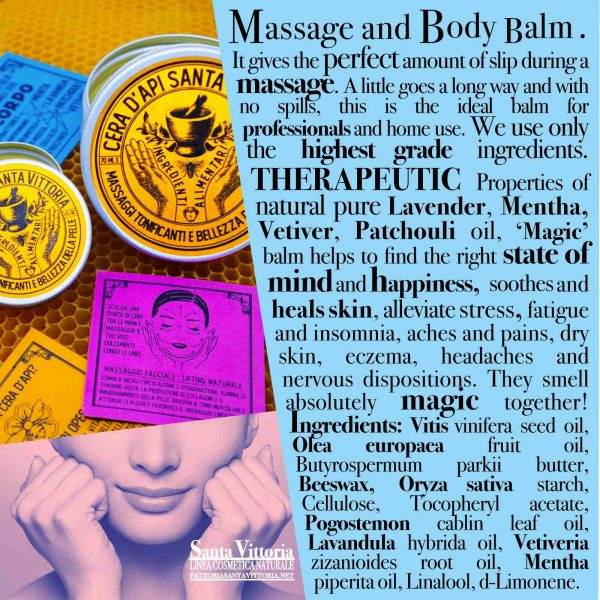 Beeswax Massage and Body Balm