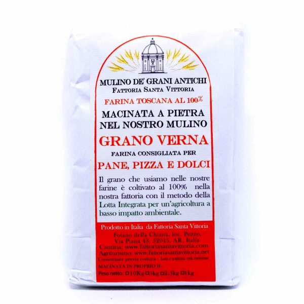 Stone ground flour Verna