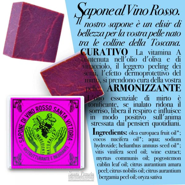 Red Wine Natural Soap