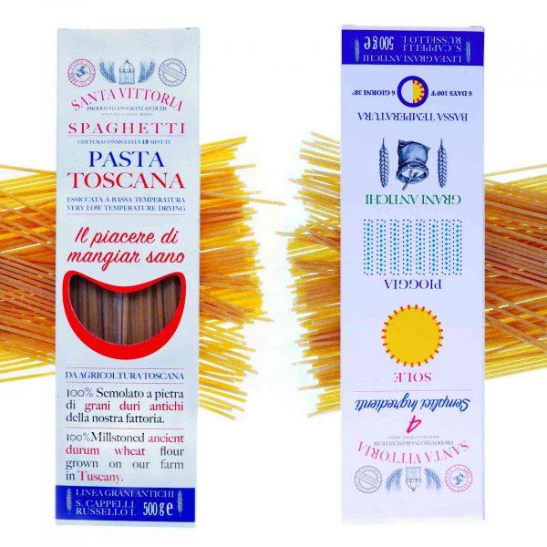 Spaghetti Durum wheat Cappelli